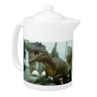 Tetera del dinosaurio del Giganotosaurus