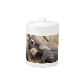 Tetera del Lemur del bebé