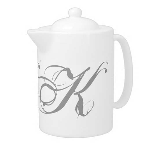 Tetera del monograma K