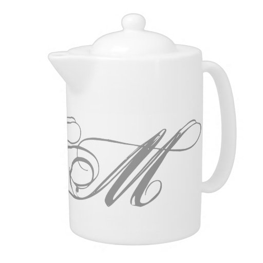 Tetera del monograma M