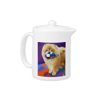 Tetera del perro chino del heARTdog de AUSTIN