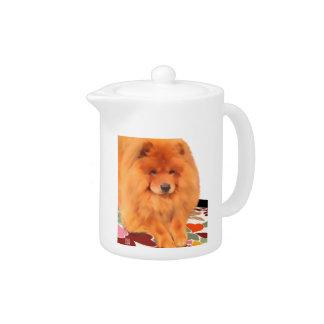 Tetera del perro chino del heARTdog de CASEY