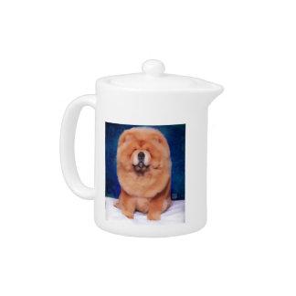 Tetera del perro chino del heARTdog de COUNTIE