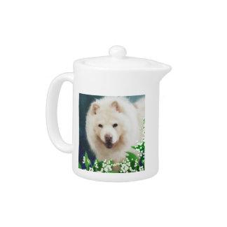 Tetera del perro chino del heARTdog de LILLY