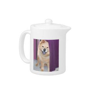Tetera del perro chino del heARTdog de TIFFA