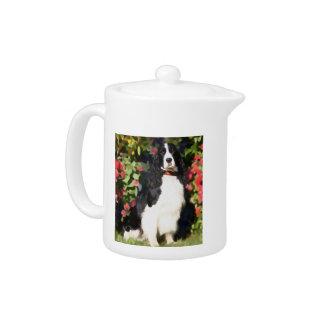 Tetera del perro de aguas de saltador del heARTdog