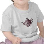 Tetera del Victorian del vintage Camiseta