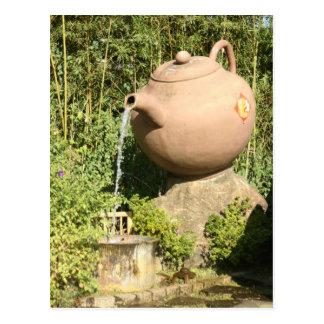 Tetera gigante en Pinglin, Taiwán Tarjeta Postal