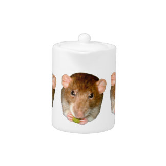 Tetera hambrienta de la rata