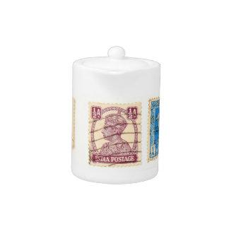 Tetera india de los sellos