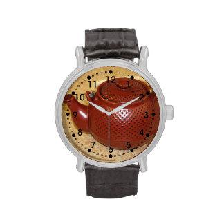 Tetera japonesa relojes de pulsera