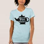 ¿Tetera - más vicario del té? - Blanco y negro Camisetas