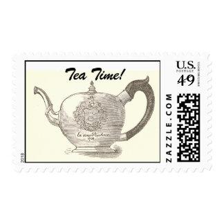 ¡Tetera OWH, tiempo del té! Sello