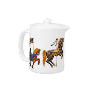 Tetera - placer del caballo del carnaval