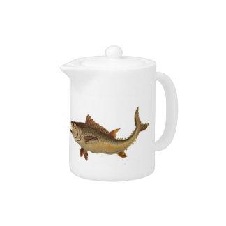 Tetera salvaje de los pescados