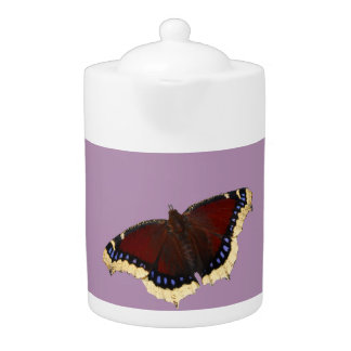 Teteras del diseño de la mariposa de la capa de la