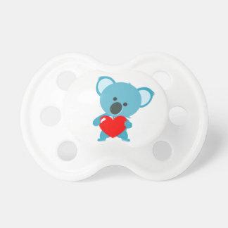 Tetina BooginHead® pequeña koala al gran corazón Chupetes De Bebé