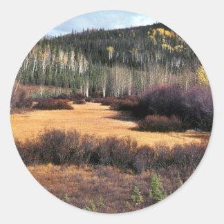Tetlin National Wildlife Refuge Classic Round Sticker