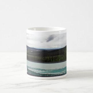 Tetlin's Visitor Sign & Scenic View Classic White Coffee Mug
