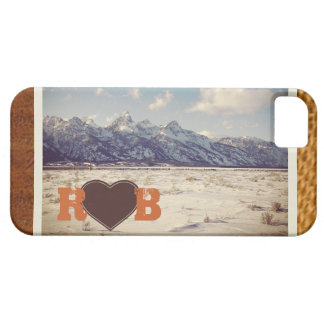 Teton and heart iPhone 5 cover