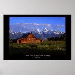 Teton Barn #1 Posters