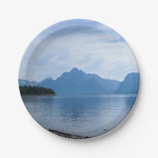 Teton Beauty Paper Plate