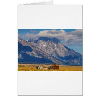 Teton Country Landscape Card