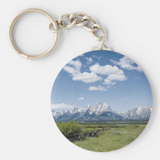 Teton Fence Keychain