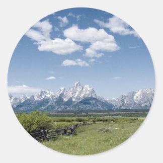 Teton Fence Stickers