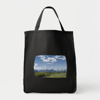 Teton Fence Tote Bag