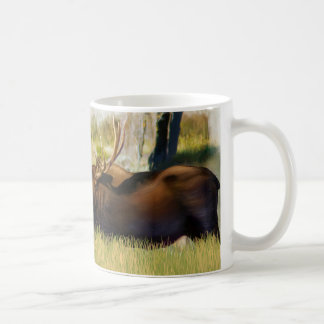 Teton King Moose Bull Coffee Mug