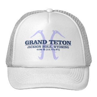 Teton magnífico 2 gorras de camionero