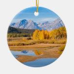 Teton magnífico adornos de navidad