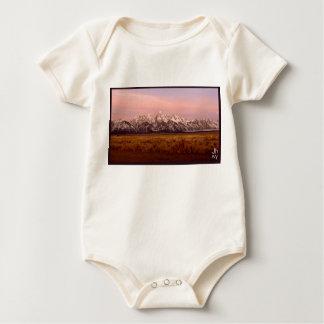 Teton morning organic baby bodysuit