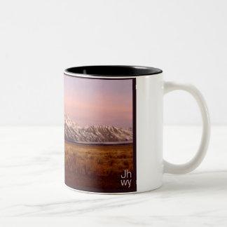 TETON MORNING Two-Tone COFFEE MUG