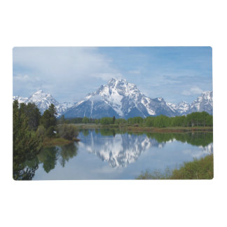 Teton Mountain Reflection Placemat
