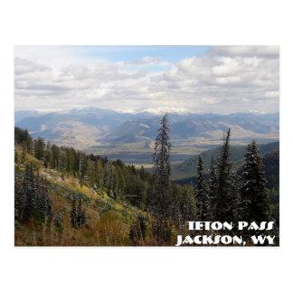 teton pass, Teton Pass, Jackson, WY Postcard