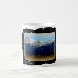 teton peaks classic white coffee mug