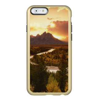 Teton Range at sunset, from Snake River Incipio Feather Shine iPhone 6 Case