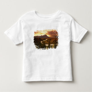 Teton Range at sunset, from Snake River Toddler T-shirt