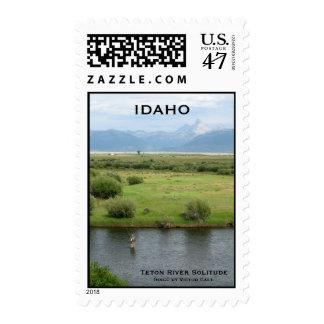 Teton River Solitude, IDAHO postage stamps
