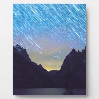 Teton Star Trails Plaque