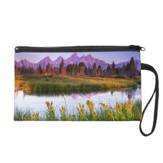 Teton Sunrise Wristlet Purse