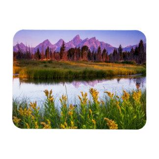 Teton Sunrise Magnet