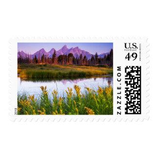 Teton Sunrise Postage