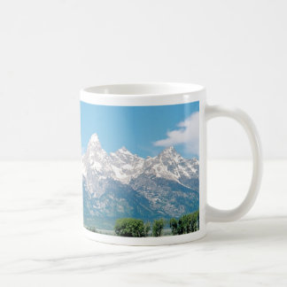 Tetons and Horses Coffee Mug