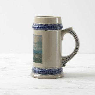 Tetons From Tramway Coffee Mug