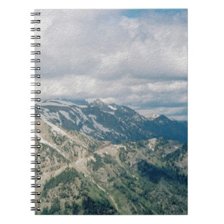 Tetons From Tramway Notebook
