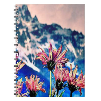 Tetons magnífico note book