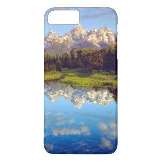 Tetons magnífico que refleja en el río Snake Funda iPhone 7 Plus